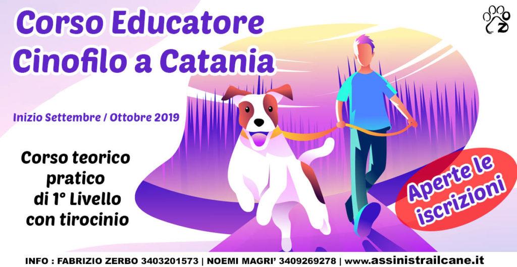 corso educatore cinofilo a catania