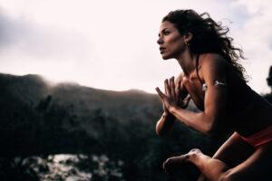 portrait women sport balance healthy yoga meditation fitness zen yogi t20 rOGV7b